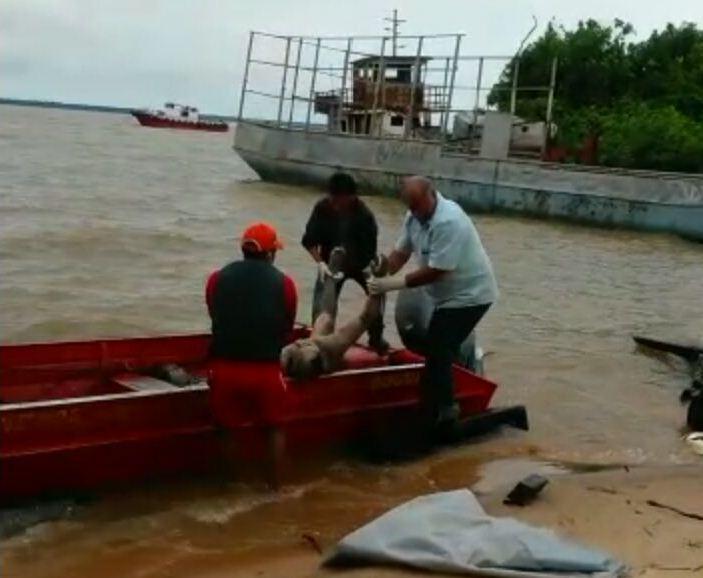 Cadáveres são encontrados no Rio Amazonas