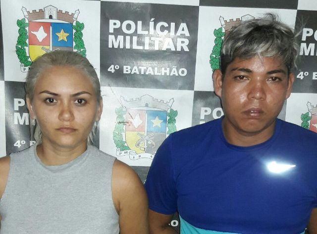 Casal é preso escondendo dinamite em casa