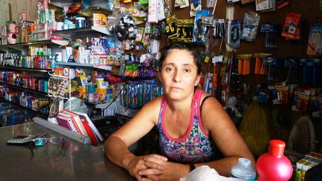 Mulher de comerciante baleado lembra momentos de terror
