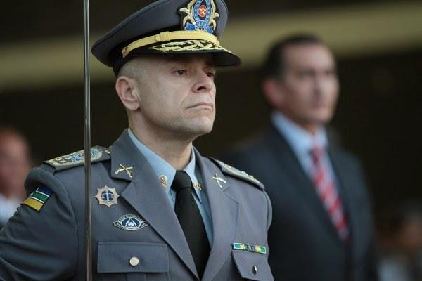 Coronel Carlos Souza deixa o comando da PM