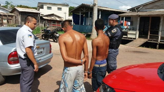 PM é ferido por assaltante durante prisão; vigilante foi agredido