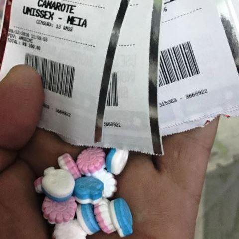 Jovem posta fotos com ingressos e faz apologia ao ecstasy