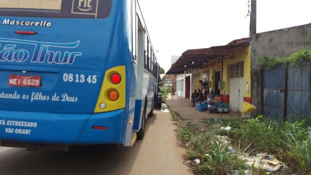 Dupla assalta ônibus no Marabaixo III