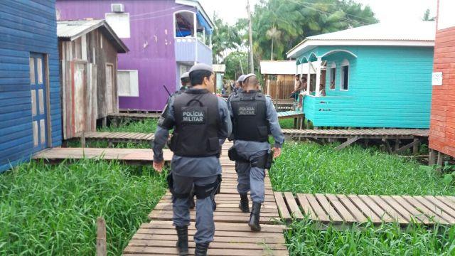 Polícia ocupa áreas de ponte da zona norte