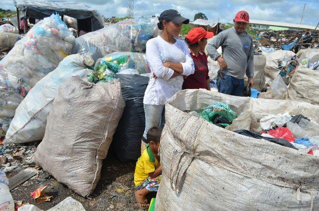 No lixo, carapirás sonham com uma vida melhor
