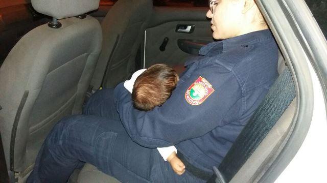 Após briga dos pais, criança de 3 meses é levada para abrigo