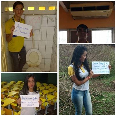 Protesto de alunos nas redes sociais tem quase 3 mil compartilhamentos