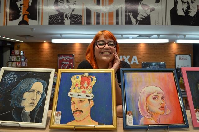 Personagens e artistas inspiram exposição de cultura pop