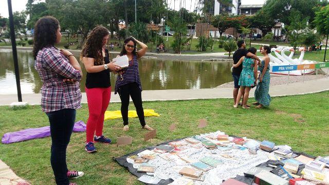 Feira de incentivo à leitura volta à Praça Floriano Peixoto