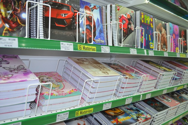 Material escolar: preços variam até 114%; confira a lista de itens