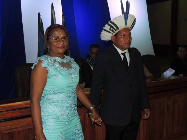 Vice indígena assume prefeitura de Oiapoque