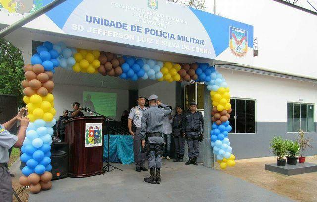 Nova base da PM é inaugurada na Ilha de Santana