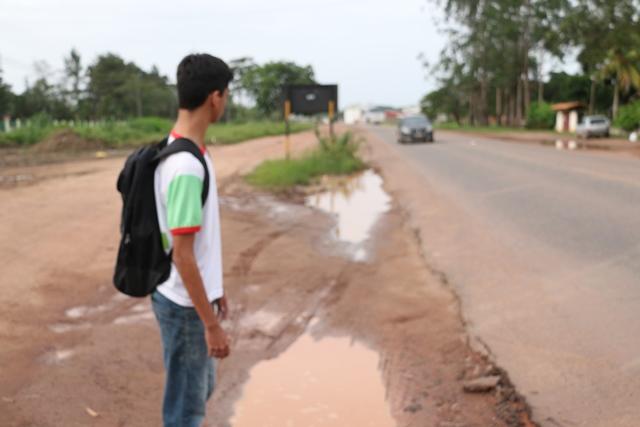 Duca Serra: Perigo para estudantes do Ifap