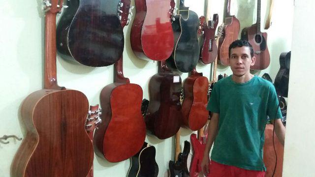 Luthier, de pai para filho
