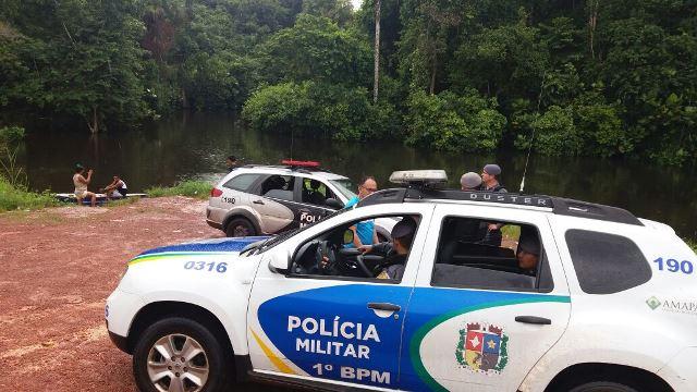 Oficial da PM morre em balneário de Macapá