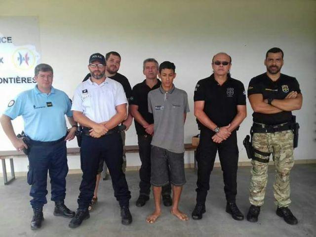Fugitivo traficava armamento de Macapá para Oiapoque, diz PC