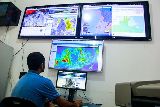 Iepa aponta risco de chuvas fortes nas próximas 48h