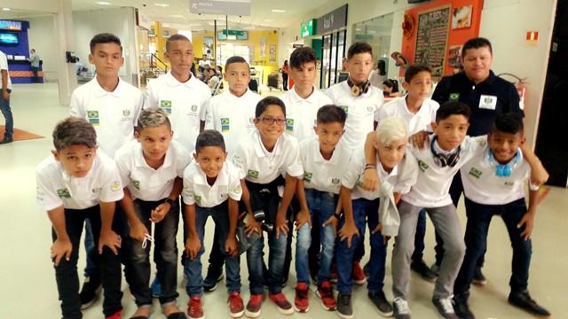 Garotos do Amapá embarcam para o Mundial SuB-13