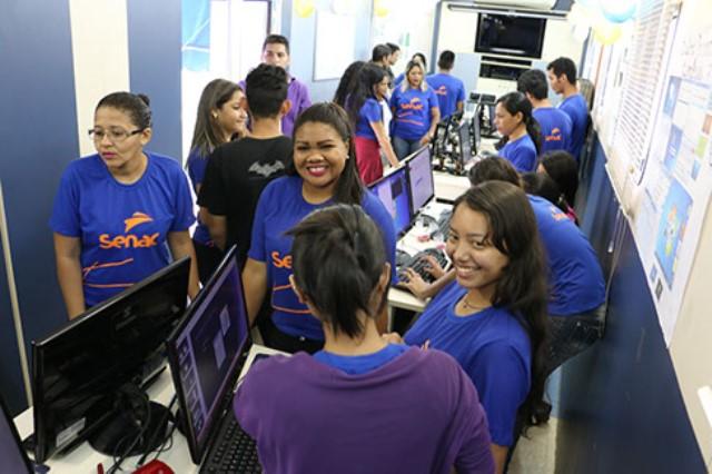 Senac oferta mais de 2 mil vagas em cursos gratuitos