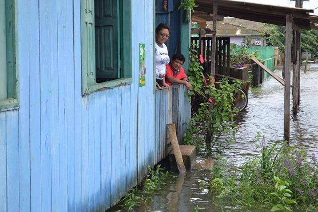 Defesa Civil diz que enchente afetou 30% de Calçoene