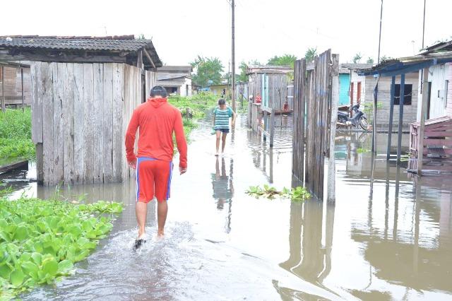 Após chuvas, Santana decreta estado de calamidade