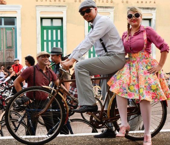 Passeio vai reunir bicicletas antigas e visual de época