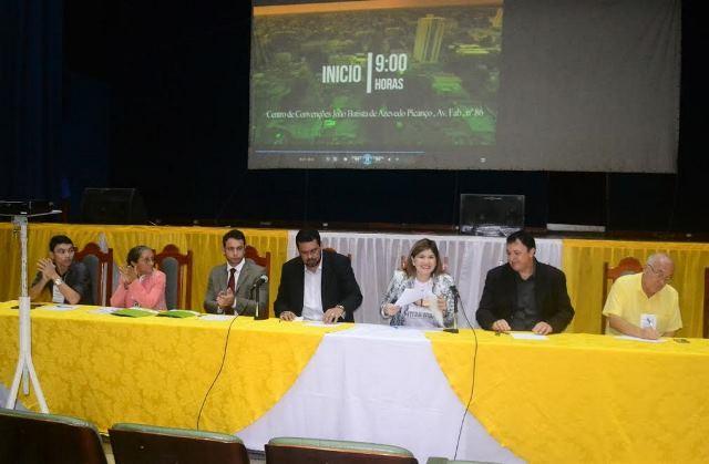 Em encontro, vereadores do AP definem metas e reforma de lei orgânica