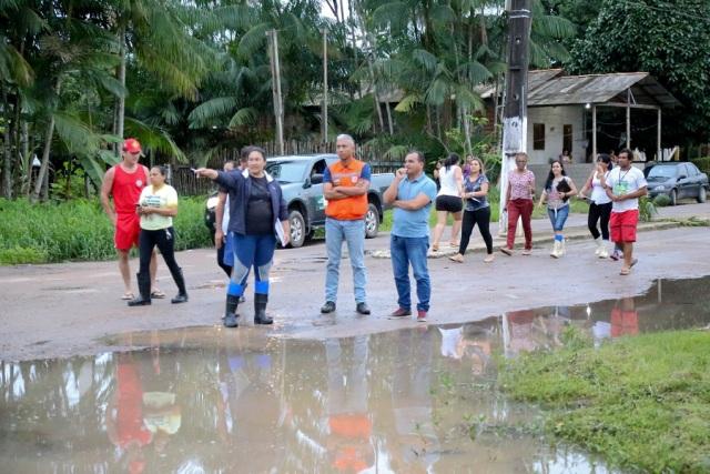 Inundação em Ferreira Gomes afeta mais de 100 famílias