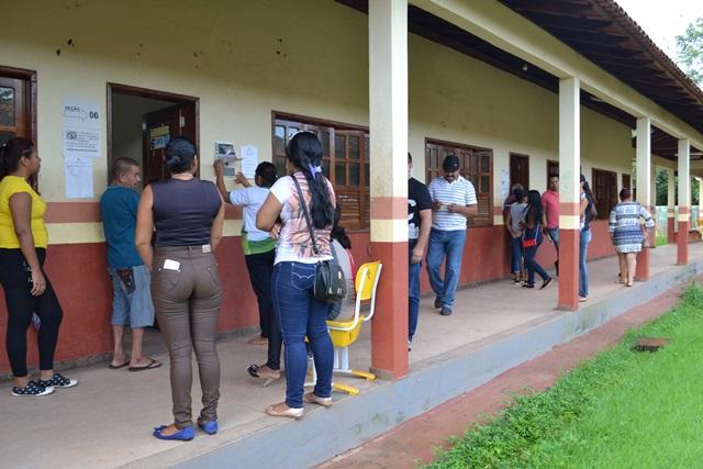 Votação em Calçoene tem poucas filas