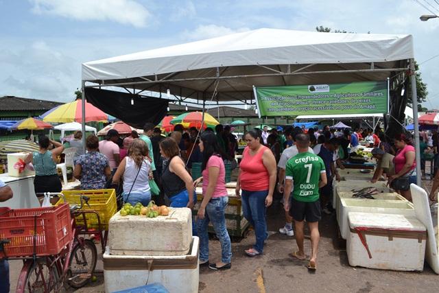 Macapaenses lotam feiras atrás de peixe