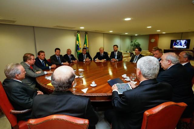 Em encontro com Temer, Clécio propõe renegociação da dívida previdenciária