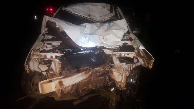 2 morrem em colisão na BR-156