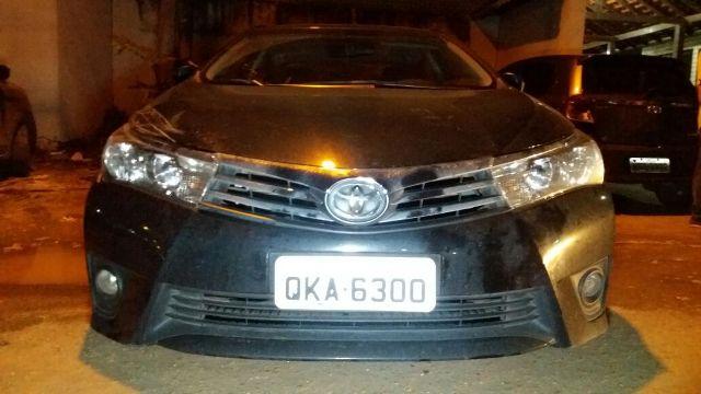 PM apreende carro roubado em GO que rodava com placa clonada em Macapá