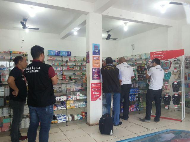 Fiscalização interdita 4 farmácias em Macapá