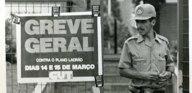 Greve geral, apesar do velho sindicalismo