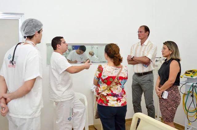 Calandrini anuncia reforma urgente do Hospital de Santana