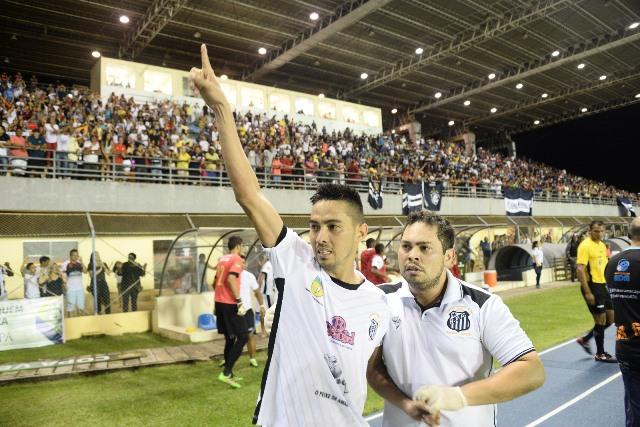 Santos faz história na Copa Verde