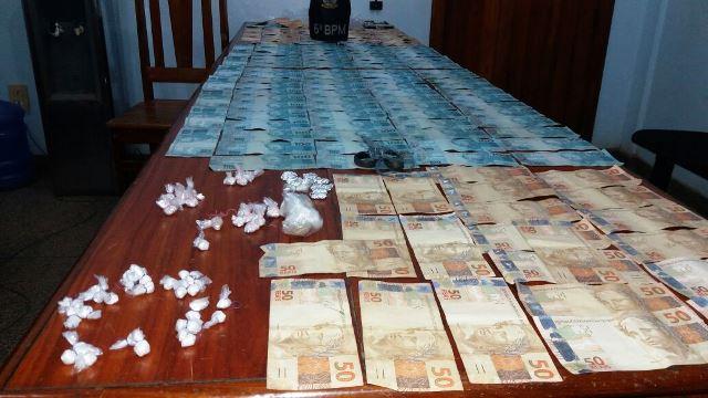 Traficante tinha quase R$ 12 mil na cueca