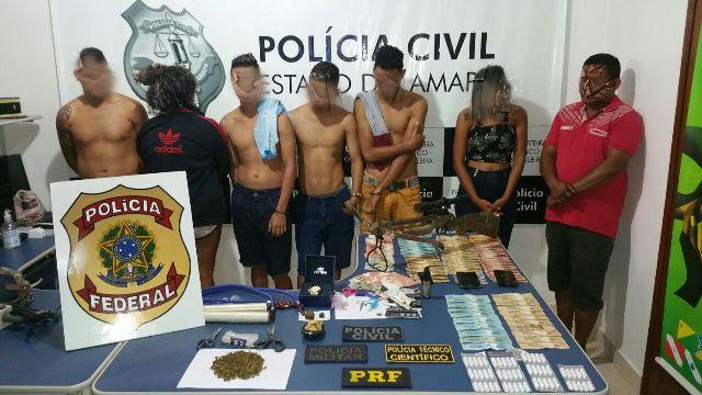 Acusados de tráfico são presos em Oiapoque