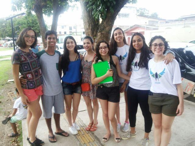 Jovens buscam ajuda para o Lar Bethânia