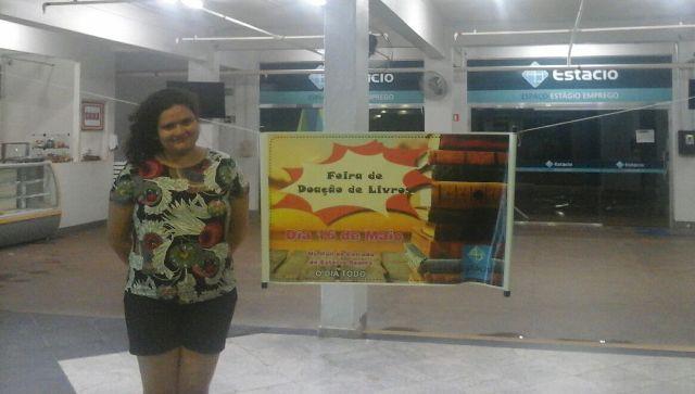 Estudantes promovem feira de arrecadação de livros para o Iapen