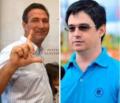 Lucas e Fábio Renato selam aliança para 2018