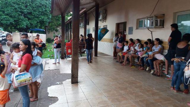 No PAI, crianças esperam até 14 horas por atendimento