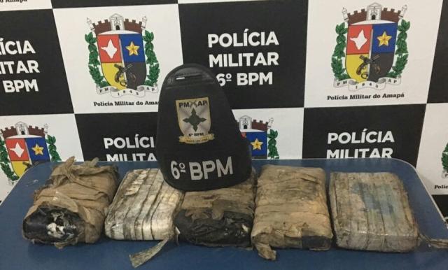 Pacotes de cocaína são encontrados em praia na costa do Amapá