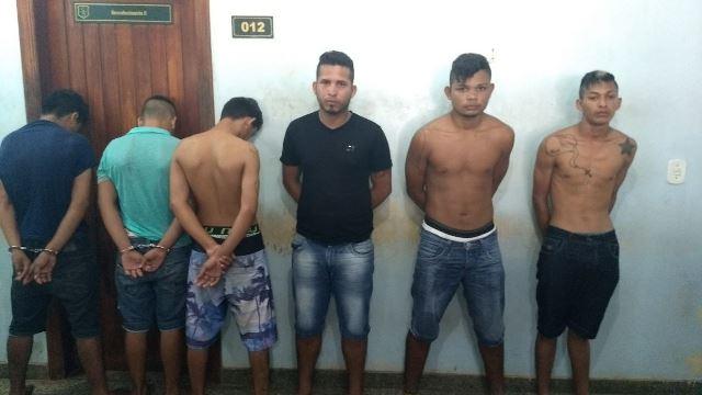 Bando que agia no Macapaba é preso