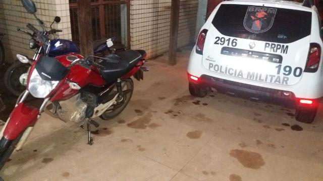 Bandido não sabia que moto roubada tinha GPS