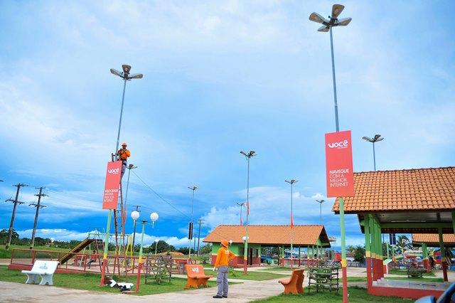 Praça Digital começa em Porto Grande