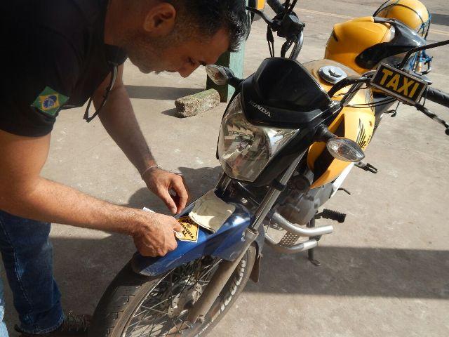 CTMac adesiva mototáxis licenciados