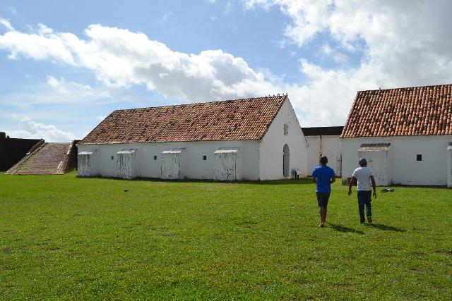 Cai em 50% o número de visitantes na Fortaleza de São José
