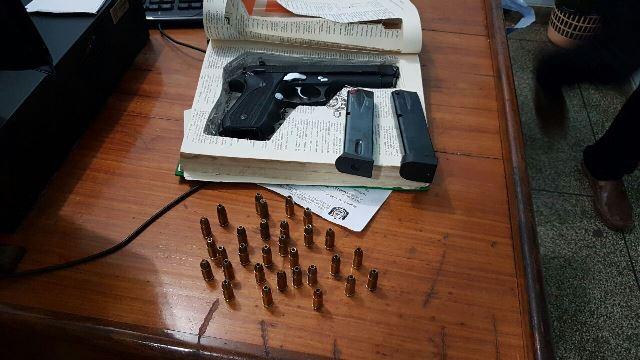 Pistola é encontrada no Aeroporto de Macapá